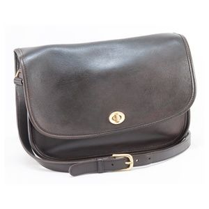 Coach Vintage Dark Brown City Bag #9790